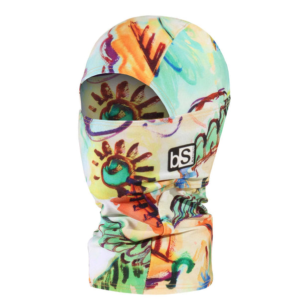 BlackStrap Kids Hood Balaclava Finger Paint USA Made Face Mask