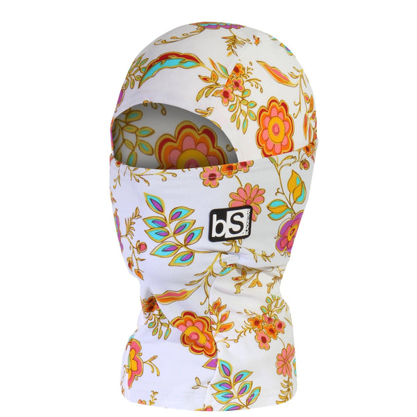 BlackStrap Kids Hood Balaclava Floral Royal USA Made Face Mask