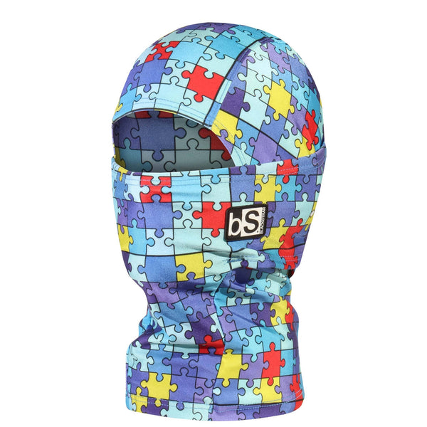 BlackStrap Kids Hood Balaclava Jigsaw USA Made Face Mask