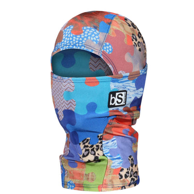 BlackStrap Kids Hood Balaclava Puzzled USA Made Face Mask