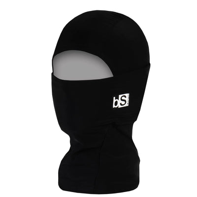 BlackStrap Kids Hood Balaclava Solid Black USA Made Face Mask