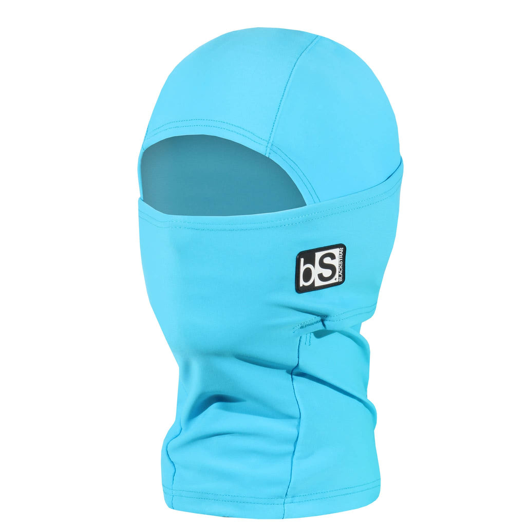 BlackStrap Kids Hood Balaclava Solid Bright Blue USA Made Face Mask
