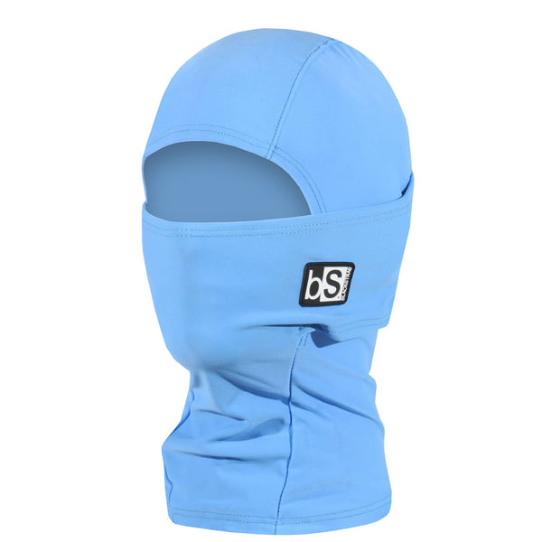 BlackStrap Kids Hood Balaclava Solid Pastel Blue USA Made Face Mask