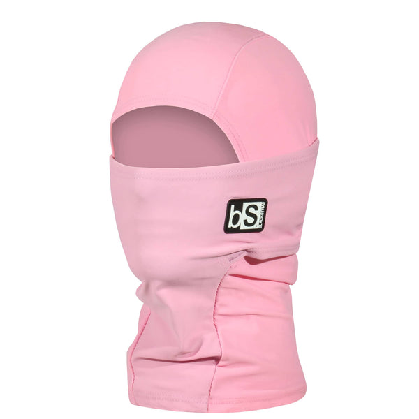 BlackStrap Kids Hood Balaclava Solid Rose USA Made Face Mask