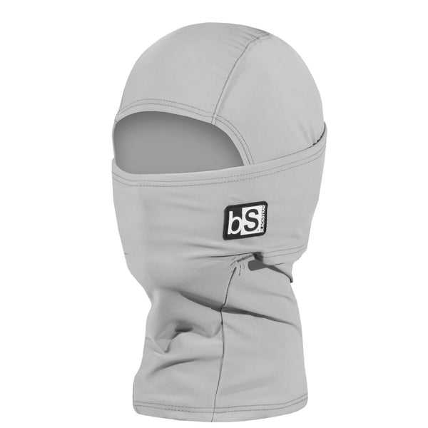 BlackStrap Kids Hood Balaclava Solid Steel Gray USA Made Face Mask