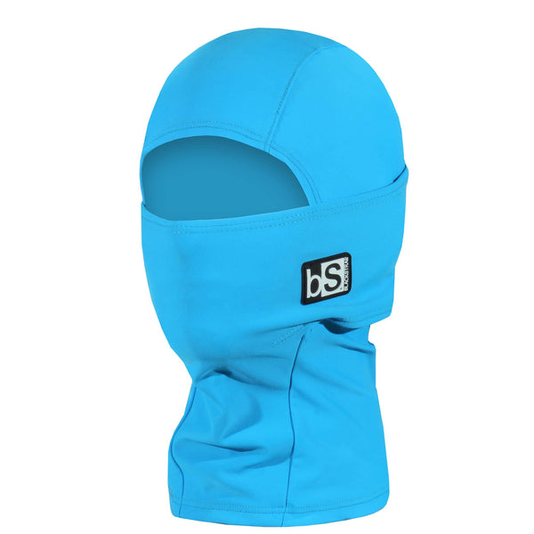 BlackStrap Kids Hood Balaclava Solid Turquoise USA Made Face Mask