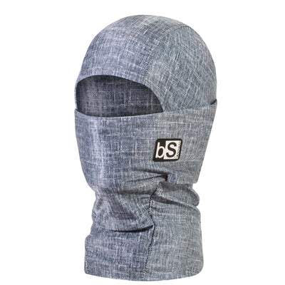BlackStrap Kids Hood Balaclava Tweed Denim USA Made Face Mask