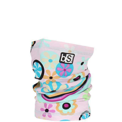The Kids Dual Layer Tube Facemask | Floral Pinwheels - BlackStrap Industries Inc. ALL RIGHTS RESERVED.