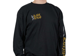 BlackStrap Long Sleeve Tee Shirt D.I.Y Black Men's