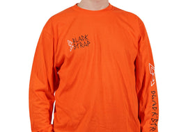 BlackStrap Long Sleeve Tee Shirt D.I.Y Orange Men's