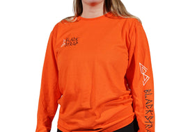 BlackStrap Long Sleeve Tee Shirt D.I.Y Orange Women's