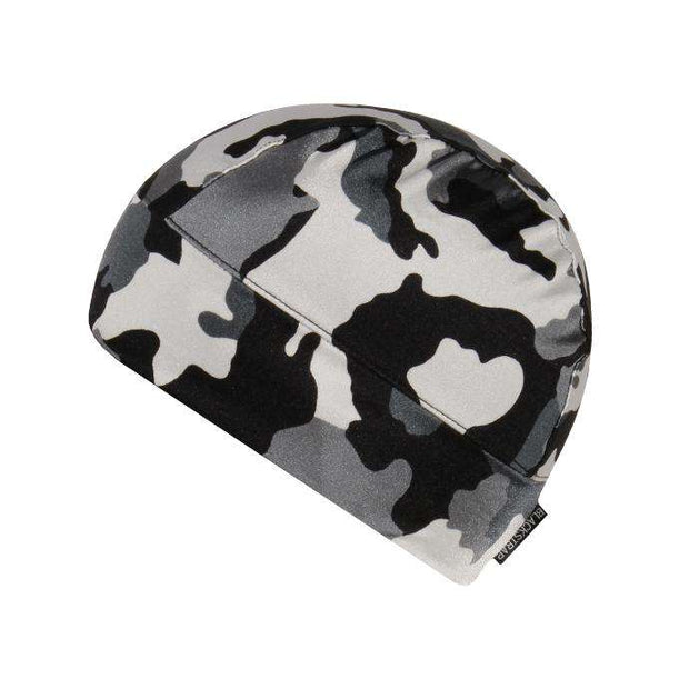 BlackStrap The Range Cap Ski Helmet Liner Camo Snow Issue
