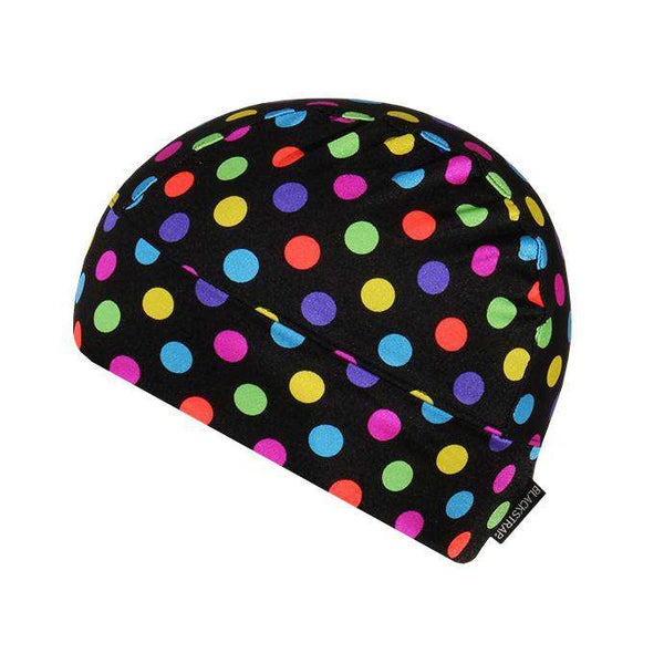 The Range Cap | Polka Dots Rainbow - BlackStrap Industries Inc. ALL RIGHTS RESERVED.