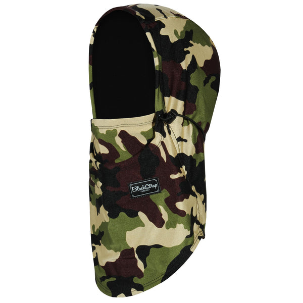 BlackStrap The Team Hood Balaclava Camo Army Issue USA Made Facemask