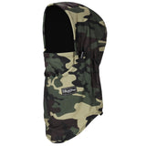BlackStrap The Team Hood Balaclava Camo Canvas Drab USA Made Facemask