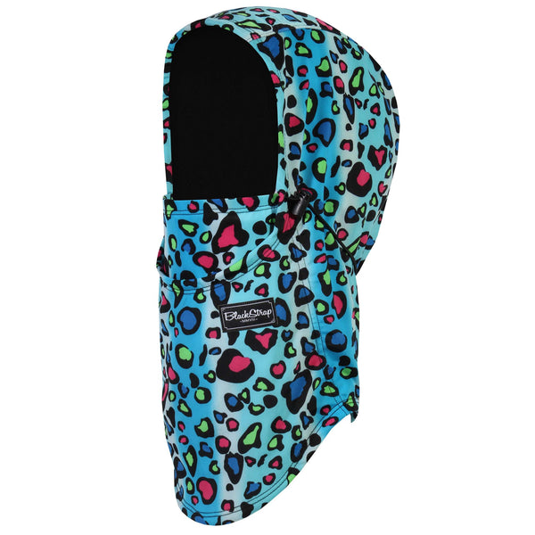 BlackStrap The Team Hood Balaclava Cheetah Spots USA Made Facemask
