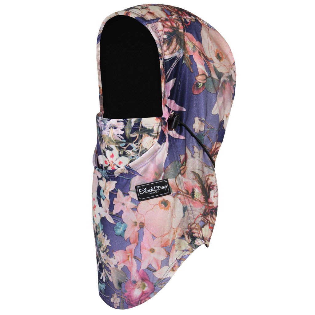 BlackStrap The Team Hood Balaclava Floral Retro USA Made Facemask