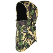 BlackStrap The Team Hood Balaclava Hex Camo Forest USA Made Facemask