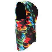 BlackStrap The Team Hood Balaclava Kaleidoscope Tie Dye USA Made Facemask