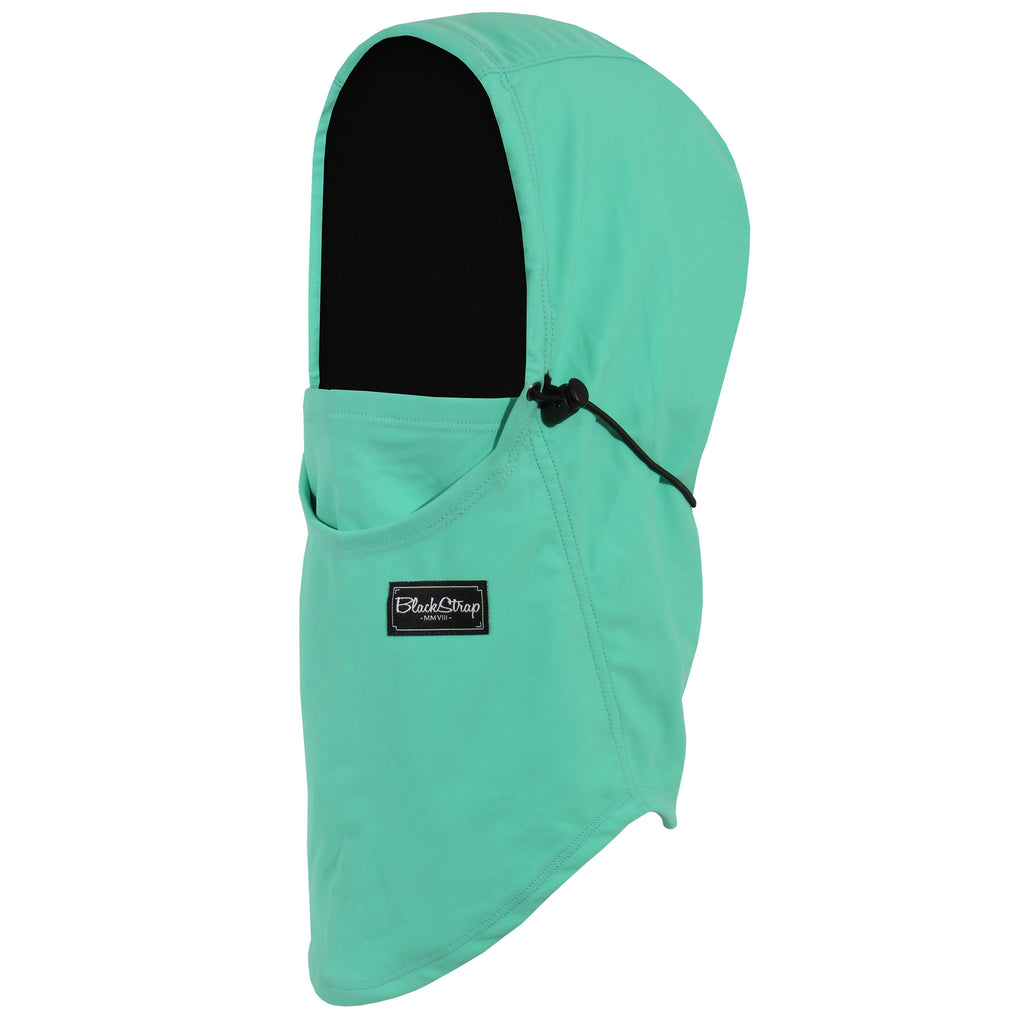BlackStrap The Team Hood Balaclava Solid Mint USA Made Facemask