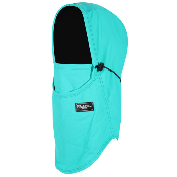 BlackStrap The Team Hood Balaclava Solid Seafoam USA Made Facemask