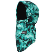 BlackStrap The Team Hood Balaclava Tie Dye Teal USA Made Facemask