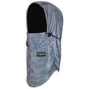 BlackStrap The Team Hood Balaclava Tweed Denim USA Made Facemask