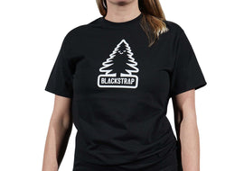 BlackStrap Tee Shirt Happy Tree Black Women's