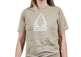 BlackStrap Tee Shirt Happy Tree Sand Women's