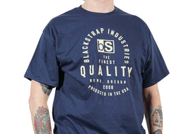 BlackStrap Tee Shirt Quality Navy Men's