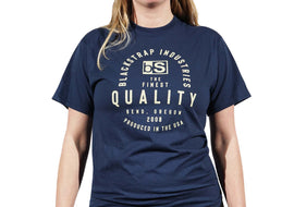 BlackStrap Tee Shirt Quality Navy Women's