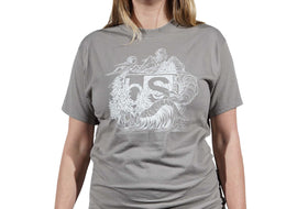 BlackStrap Tee Shirt Zach Johnsen Natural Gray Women's
