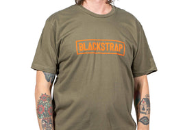 Electric Text T-Shirt | Olive Green