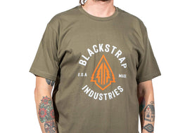 Electric Tree T-Shirt | Olive Green