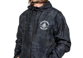 Packaway Full Zip Jacket | Black Camo
