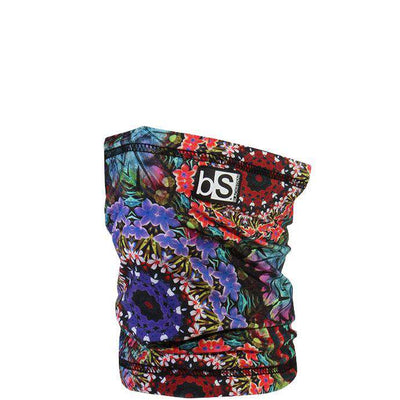 The Kids Dual Layer Tube Facemask | Floral Circles - BlackStrap Industries Inc. ALL RIGHTS RESERVED.