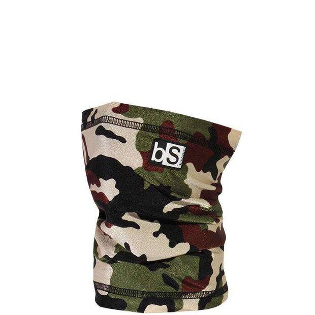 The Kids Dual Layer Tube Facemask | Camouflage Army Issue - BlackStrap Industries Inc. ALL RIGHTS RESERVED.