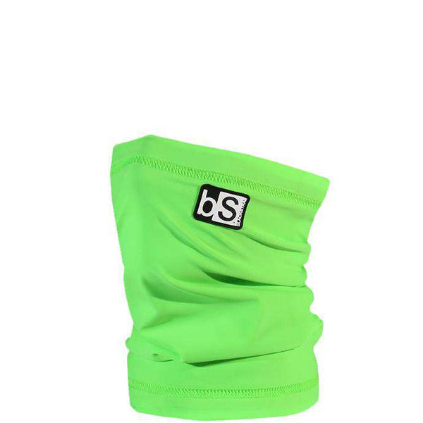 The Kids Dual Layer Tube Facemask | Solid Bright Green - BlackStrap Industries Inc. ALL RIGHTS RESERVED.