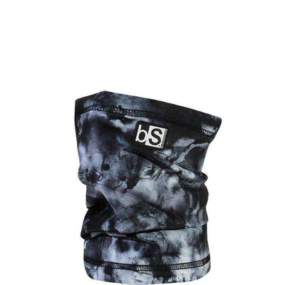 The Kids Dual Layer Tube Facemask | Tie Dye Monotone Gray - BlackStrap Industries Inc. ALL RIGHTS RESERVED.