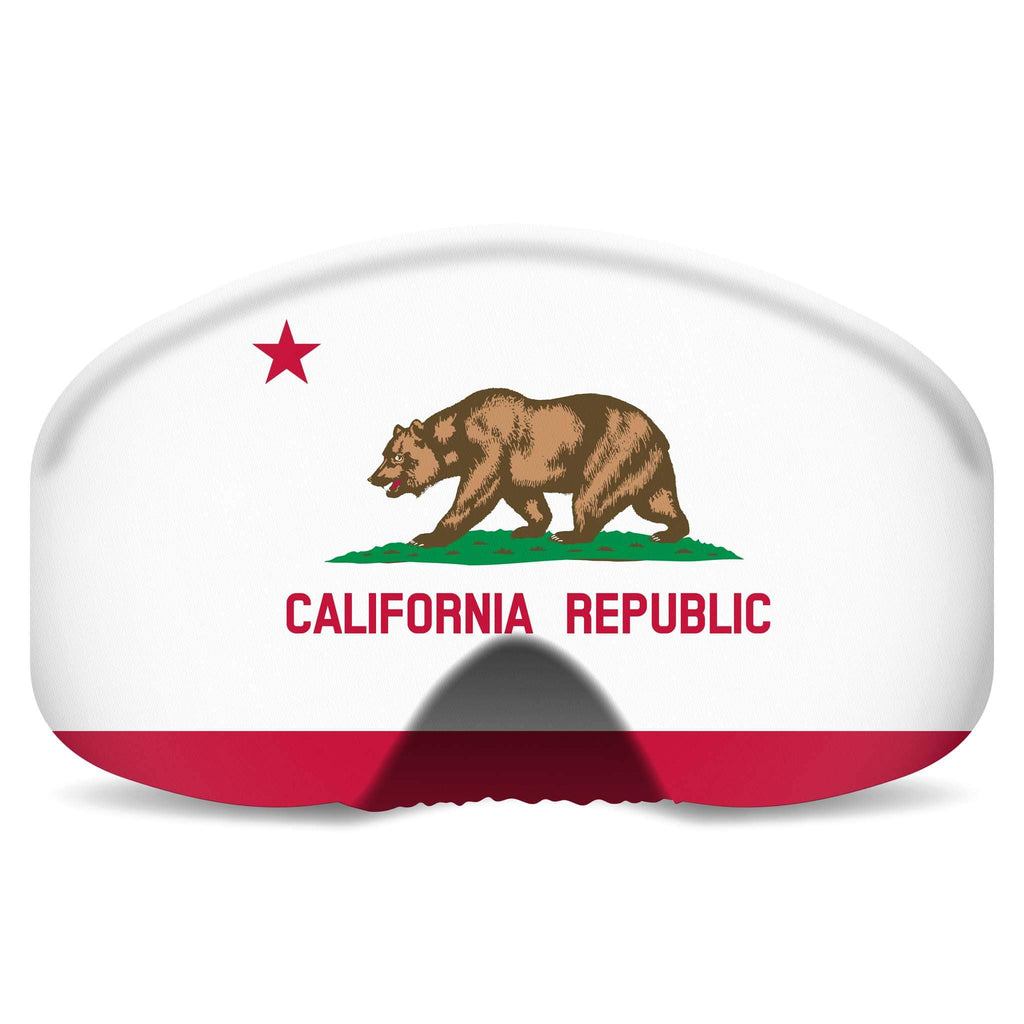 BlackStrap Goggle Cover California Republic Flag USA Made