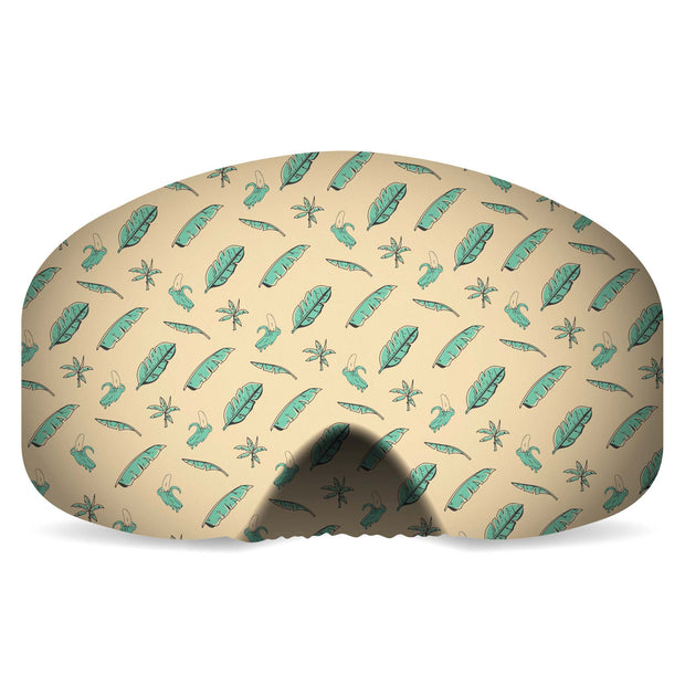 Goggle Cover | Banana Leaves