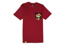 ROSE COLLECTION : [RED] POCKET TEE