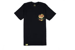 ROSE COLLECTION : [BLACK] POCKET TEE