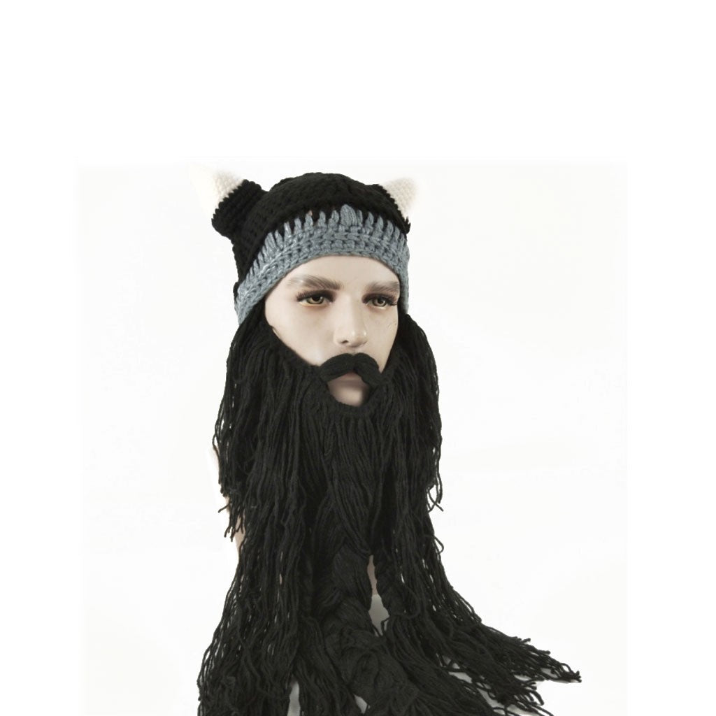 Man s Hat With Beard Attached For Men Who Can t Grow Beards ... 7fbcf84aa5f