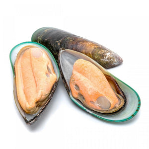 Green Shell Half Mussels