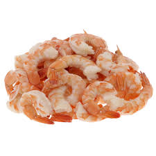 White Pacific Shrimp Cooked tail On Size 16-20