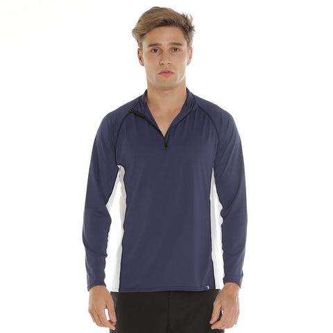 Eden Zip Collar Long Sleeve Sun Shirt