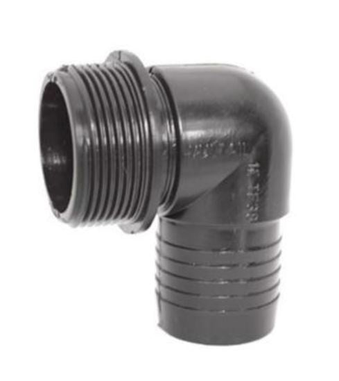 Elbow Male To Hose 13mm - BSP Thread
