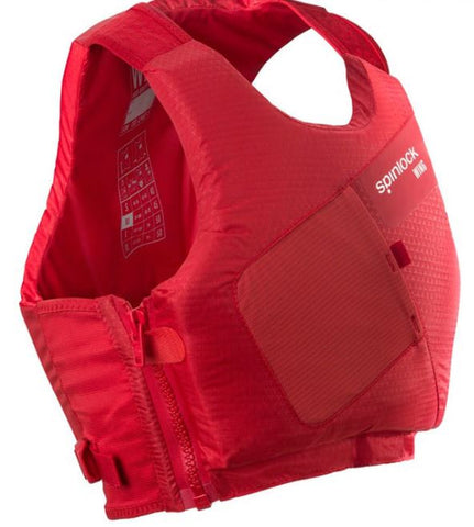 SPINLOCK Wing Side Zip PFD 50N - MERCURY RED