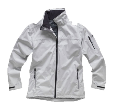 Gill Crew Lite Jacket SILVER